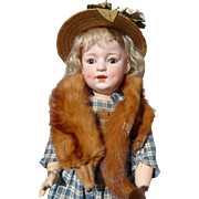 Vintage Mink Stole for  your Doll Perfect Condition