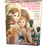 Coleman's Encyclopedia of Dolls  Fabulous Reference Book 1266 pages