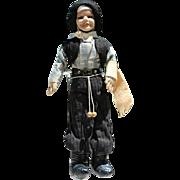 Vintage 1940s Cloth Felt Argentina Gaucho Doll!