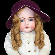Fantastic! 1940s Doll Hat w Label Inside! Deluxe Velour!