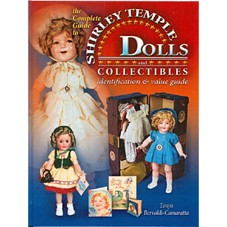 Doll Reference Book!  Shirley Temple Dolls and Collectibles! MINT!
