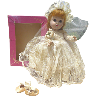 Ginny Bride Outfit #64 Complete in Box 1950s Tagged
