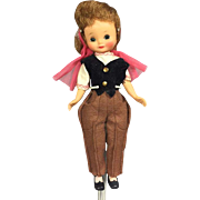 "Darling 8"" Betsy McCall Doll in 1958 Riding Habit outfit!"