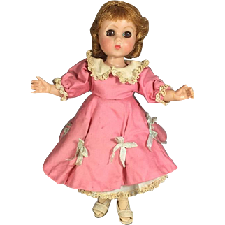"""Vintage 1950s Mme Alexander Lissy Doll Lookalike """"Lusette"""" from Mexico - Fantastic!"""
