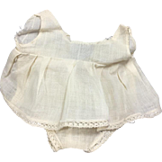 Vintage 1930s Factory Ideal Compo Shirley Temple Doll Onesie Cotton Panties/Slip