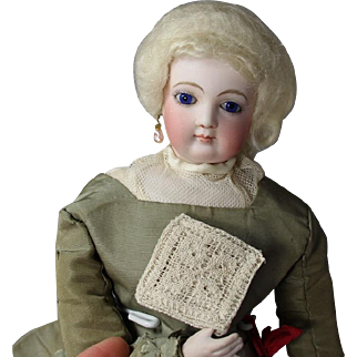 Dainty! Antique Doll Sized French Lace Pack from Brittany France