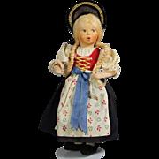 Vintage BAITZ Austria Whistler Lady Doll!