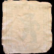 HTF!  Vintage Esmond Doll Teddy Bear Washcloth! Dydee