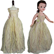Lovely Vintage Mommy Made Formal for Cissy Doll!