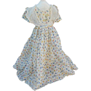 "Ideal Tagged Dress for 24"" Deanna Durbin Compo Doll! Original Vintage c1938"