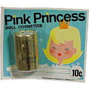 Vintage 1959 Pink Princess Doll Cosmetics Makeup Bubble Bath! Old Store Stock