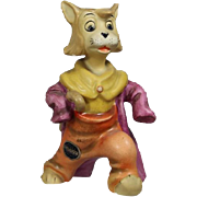 Goebel Walt Disney Pinocchio GIDDY the Cat Figurine! HTF! Partner of Honest John!