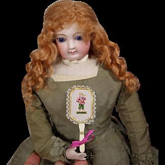 Beautiful French Fashion Doll Fan - Artist Made!