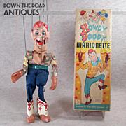 Howdy Doody Marionette - Near Mint in Box - 1950's