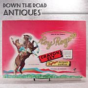 Roy Rogers Crayon Set - 1950's