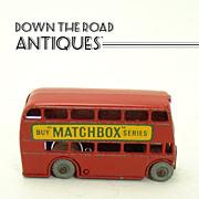 Lesney of England Matchbox London Bus Double Decker - 1950's