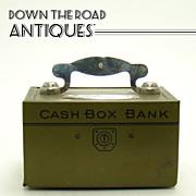 Chein Tin Cash Box Bank