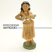 Hula Girl Dashboard Nodder - 1950's