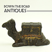 Cast Iron Kneeling Camel Bank by Kyser & Rex