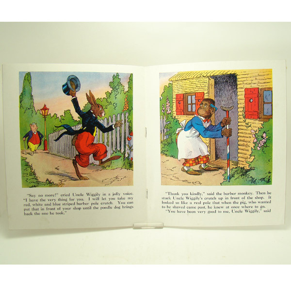 Barber Shop Erie Pa : Uncle Wiggly and The Barber Childrens Book - 1939 from dtrantiques on ...