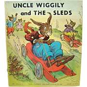 Uncle Wiggly and The Sleds Childrens Book - 1939