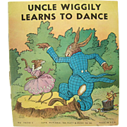 Uncle Wiggly Learns To Dance Children's Book - 1939