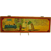 Old Mother Hubbard Children's Pencil Box - Near Mint