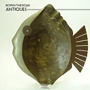 Hand Made Mexican Mixed Metals Ashtray - Art Deco - E.CABELLO