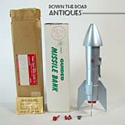 Guided Missile Bank Toy - Mint in Box - Late 1950's