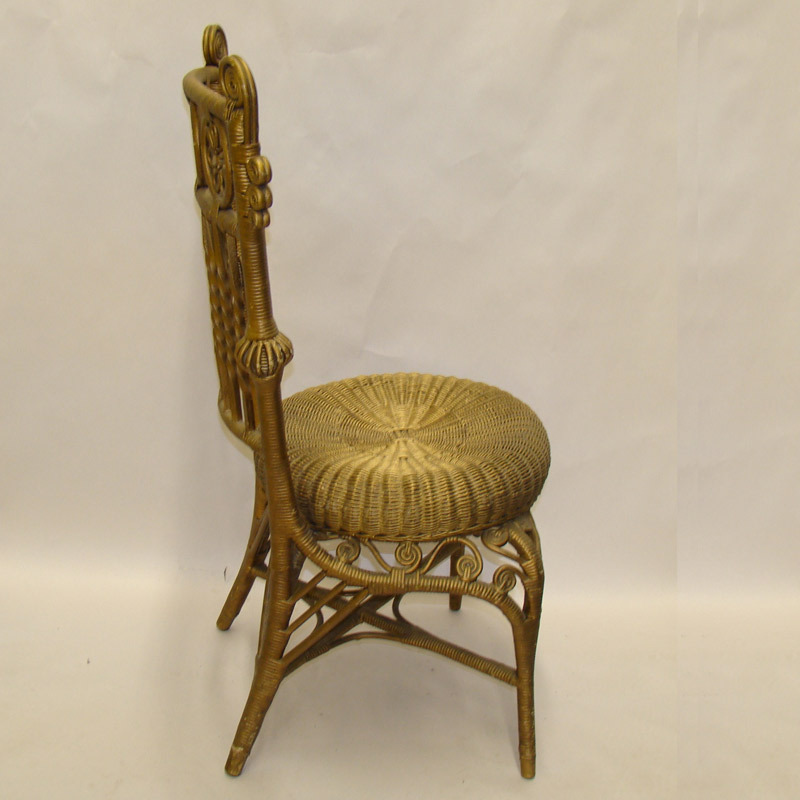Rare Wicker Child S Photographer S Chair 1880 S From