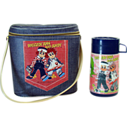 Raggedy Ann and Andy Aladdin Vinyl Lunch Box and Thermos