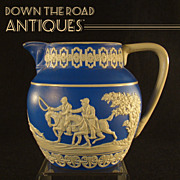 Spode Copeland England Pitcher or Creamer w/ Hunting Scene