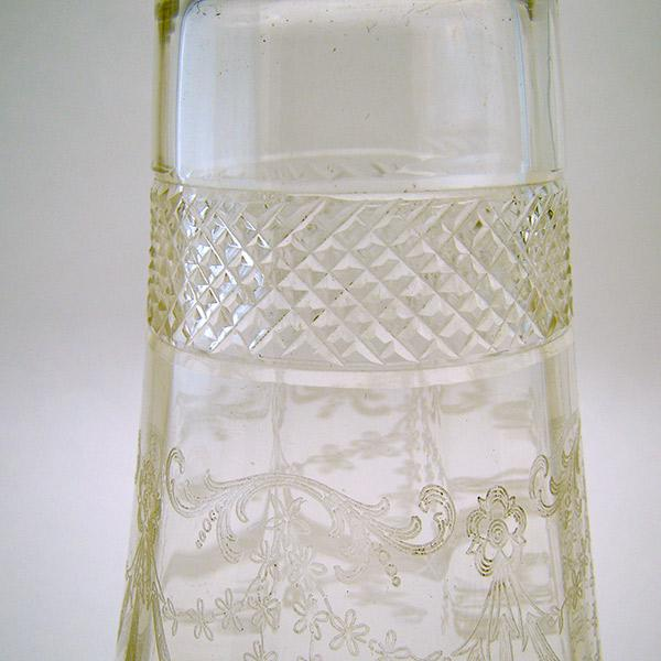 Barber Shop Erie Pa : Cut Glass Barber Bottle with Sterling Top from dtrantiques on Ruby ...
