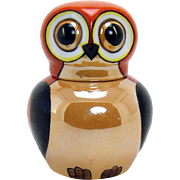 Hand-Painted Art Deco Noritake Owl Ink Well (Rare)