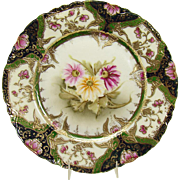 Hand-Painted Nippon Porcelain Plate