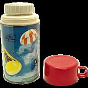 1963 Orbit Thermos Bottle No. 2856 - John Glenn NASA Space Program - Near Mint