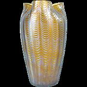 Large Loetz Aeolus Art Glass Vase c. 1902