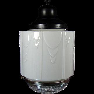 Art Deco Pendant Light Fixture - 1920's