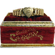 Gold-Filled Expandable Baby Bracelet - 1890's