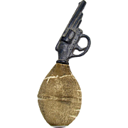 Pistol Squeeze Squeaker Toy - 1910