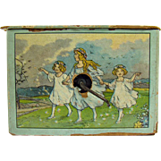 Czechoslovakian Lithographed Child's Music Box - 1910