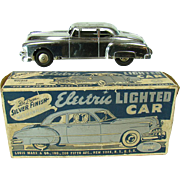 Marx Electric Lighted Car Friction Toy