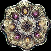 Hand-Painted Royal Kinran Nippon Porcelain Platter