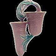 Rare Velmoss Roseville Pottery Wall Pocket