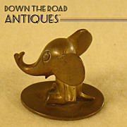 Hagenauer Bronze Stylized Elephant - 1920's