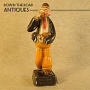 Rare Wimpy Chalkware Figurine (Popeye)