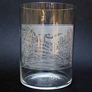 Historical Drinking Glass - Jamestown, New York,1880s
