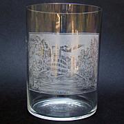 Historical Drinking Glass - Jamestown, New York,1880s