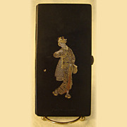 Japanese Gold and Silver Inlaid Cigarette Holder