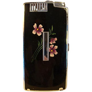 Ronson Cigarette Case & Lighter Combination - 1920's